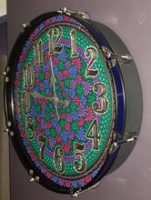 "Load image into Gallery viewer, 22"" Mandala Bass Drum Clock - Alice"