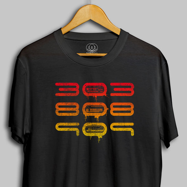303 808 909 Roland Synth Mens T-Shirt