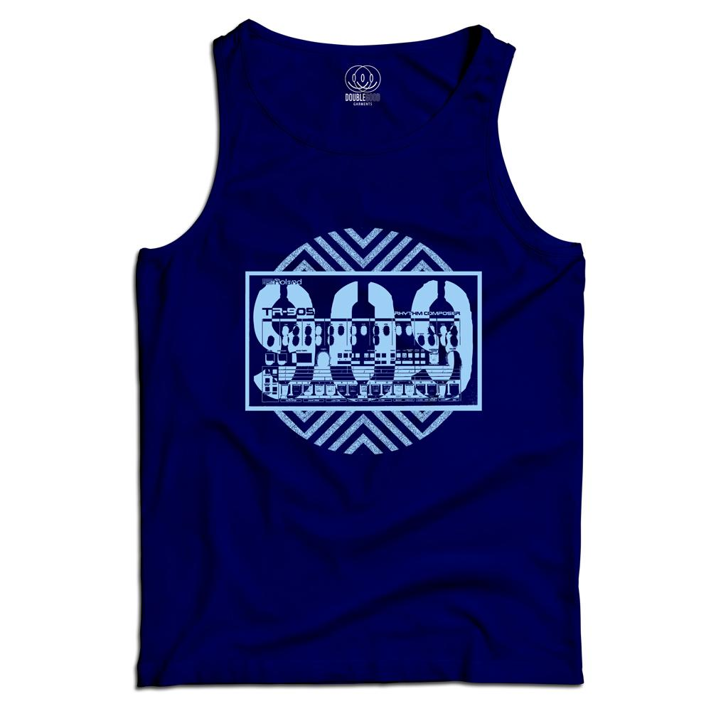 Acid House 909 Men's Vest Top Acid House 909 Men's Vest