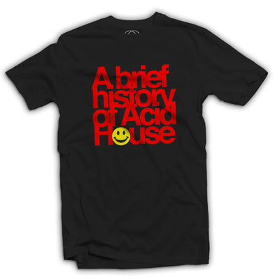 A Brief History of Acid House Men's T-Shirt