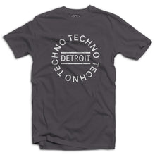 Detroit Techno Circle Logo Mens T-Shirt