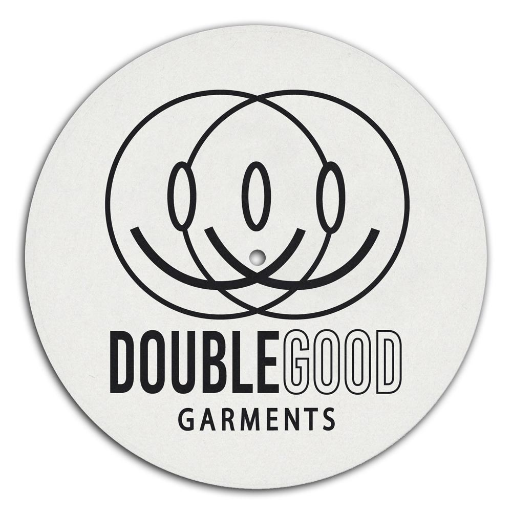 Double Good Logo DJ Slipmat