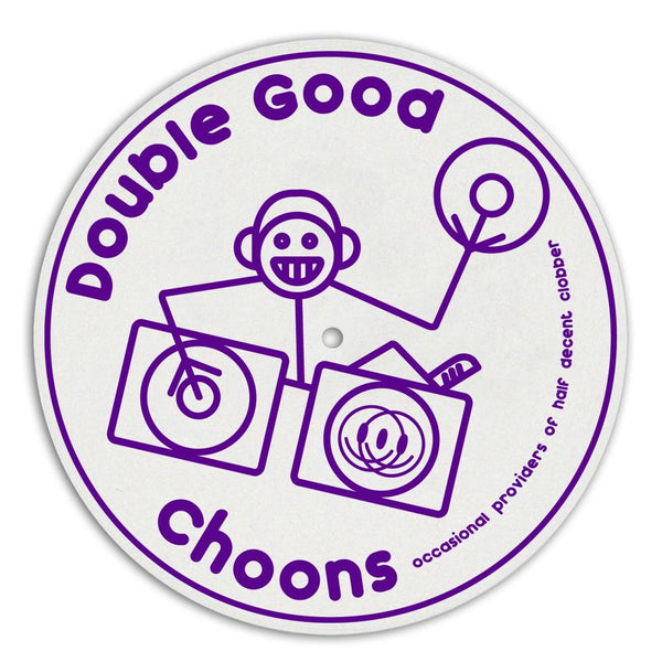 Double Hooj Choons DJ Slipmat