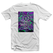 Psychedelic Double Good Logo Mens T-Shirt