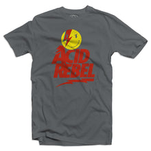 Acid House Rebel Men's Grey T-Shirt
