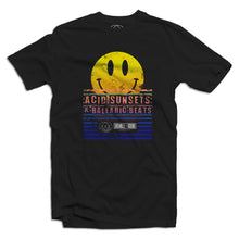 Acid Sunsets Balaeric Beats Mens T Shirt
