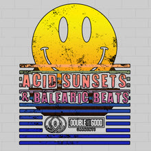 Acid Sunsets Balaeric Beats Dress