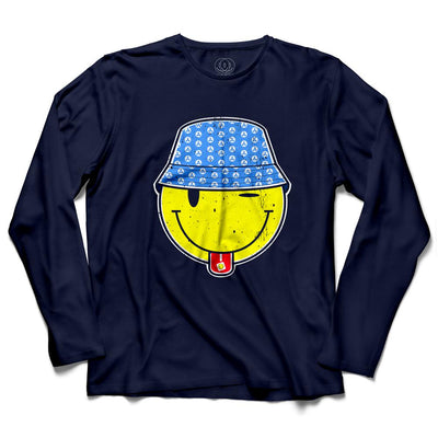 Bucket Head Acid Men's Long Sleeve T-Shirt