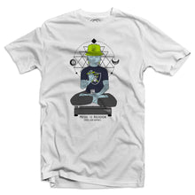 Raving Buddha Men's White T-Shirt