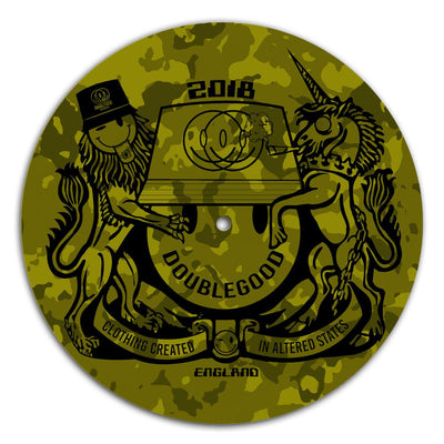 Coat of Arms Camo DJ Slipmat