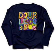 Double Double Good Men's Long Sleeve T-Shirt Back