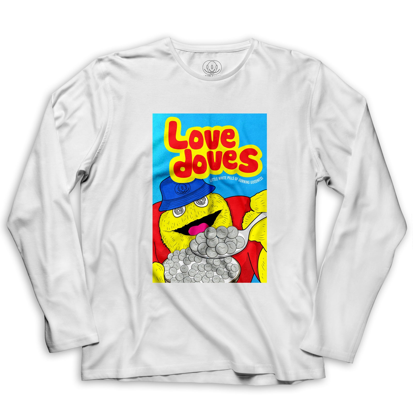 Love Doves Mens Long Sleeve T Shirt