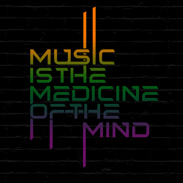 Music is the Medicine of the Mind T Shirt