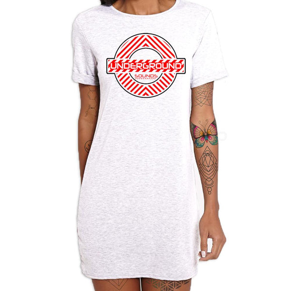 Underground Sounds Women's White Dress