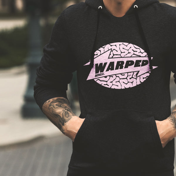 Warped Minds Warp Records Tribute Hoodie