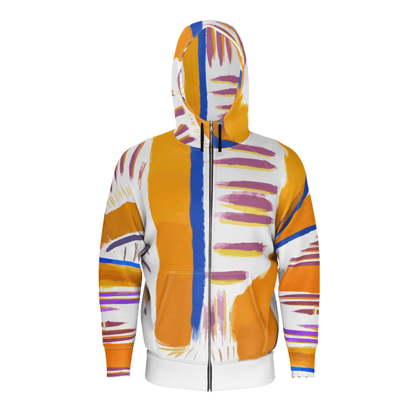Music by HoneyChrome Zip Hoodie