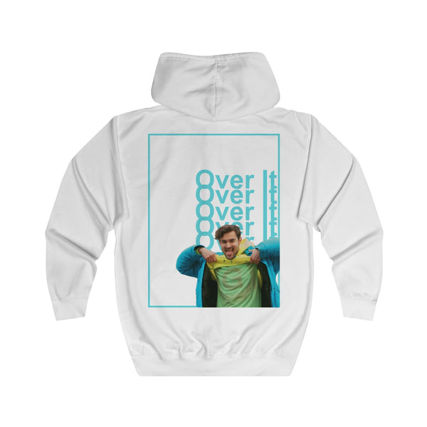 Over It Unisex Full Zip Hoodie Sweatshirt