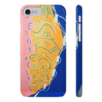 Energy Transfer by HoneyChrome Slim Phone Case