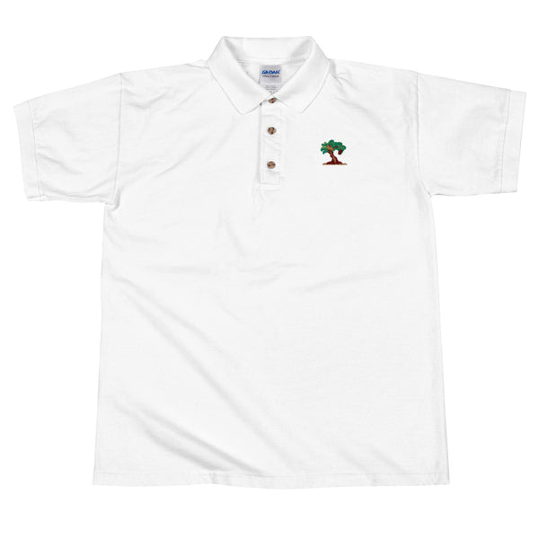 FutureHip Tree of Life Logo Embroidered Polo Shirt