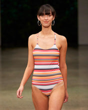 Load image into Gallery viewer, PATONG ONE-PIECE | STRIPE TECHNICOLOR