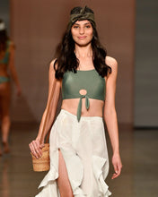 Load image into Gallery viewer, MALIBU CROP TOP | GREEN