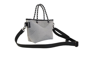 PRENE THE XXS CROSSBODY / TOTE BAG GREY MARLE