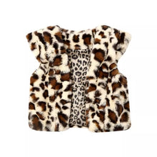 Load image into Gallery viewer, Leopard Winter Fur Coat