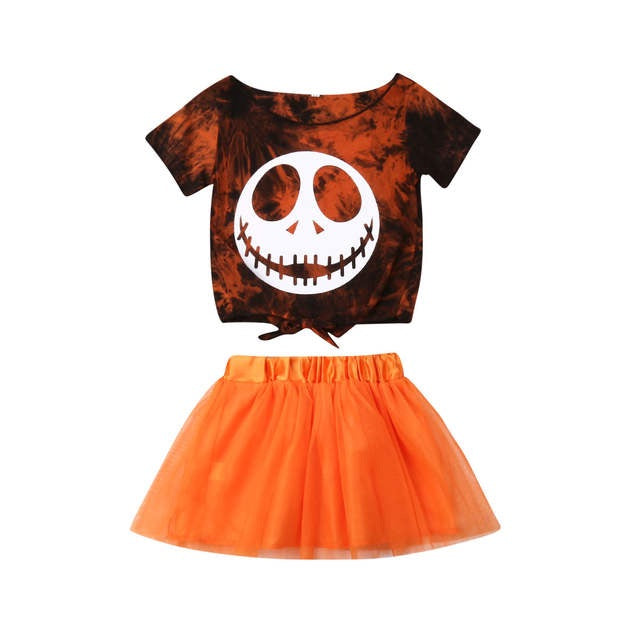 Happy Skull Orange Set