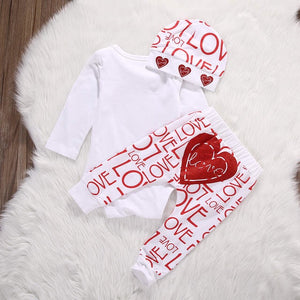 Love Me Onesie Set