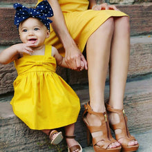 Load image into Gallery viewer, (Newborn 0-36m) Yellow Summer Dress