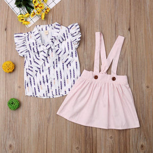 Pink Feather Summer Set