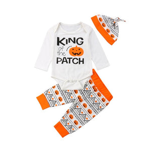 King of the Patch Romper Set
