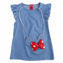 Load image into Gallery viewer, Minnie Jean Dress with Bag