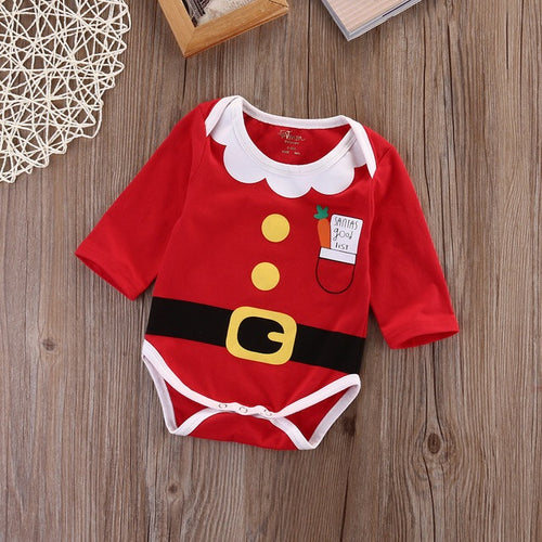 Little Santa Romper