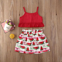 Load image into Gallery viewer, Red Watermelon Summer Set