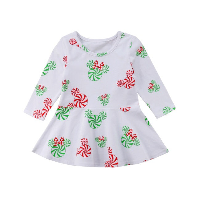 Minnie Candy Christmas Dress
