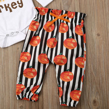 Load image into Gallery viewer, Cutest Little Turkey Romper Set