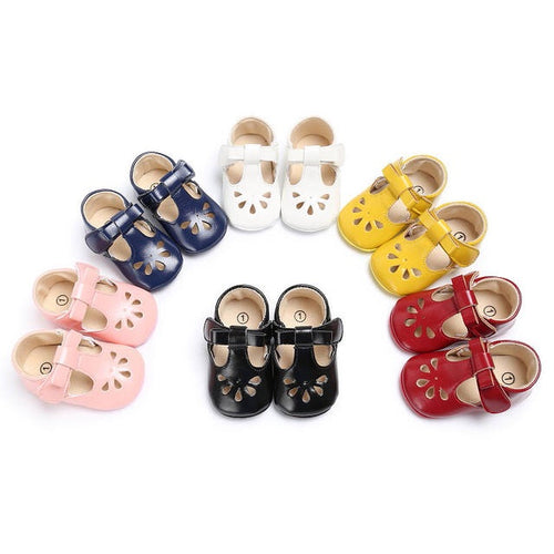 Floral Princess Shoes (0-18m)