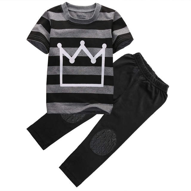 Striped Crown Set