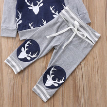 Load image into Gallery viewer, Winter Reindeer Jacket Set