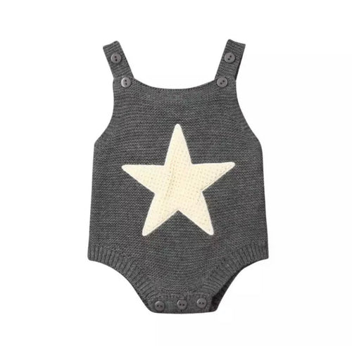 Awesome Star Knitted Romper