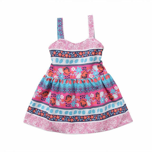 Hot Floral Summer Dress