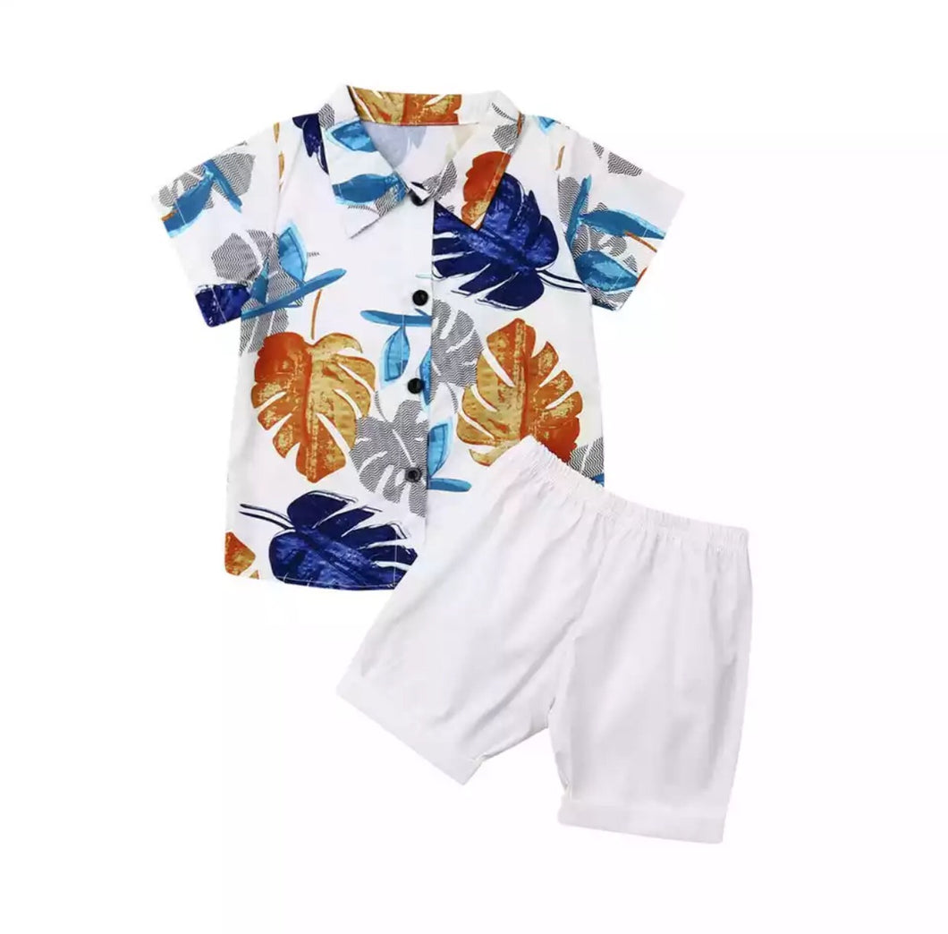 White Summer Fashion Set