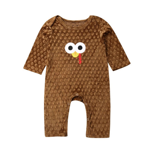 Turkey Dude Romper