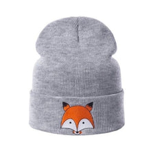 Load image into Gallery viewer, Fox Winter Hat