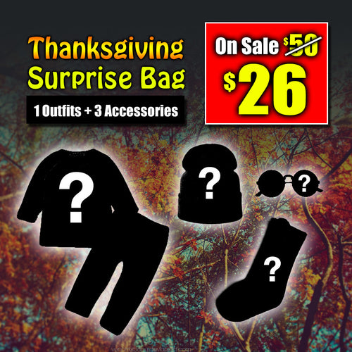 Thanksgiving Surprise Bag (Prince) October Theme