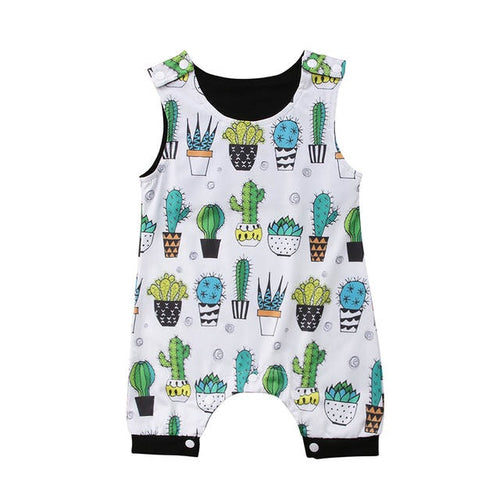 Cactus Cartoon Onesie