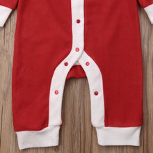 Load image into Gallery viewer, Santa Romper