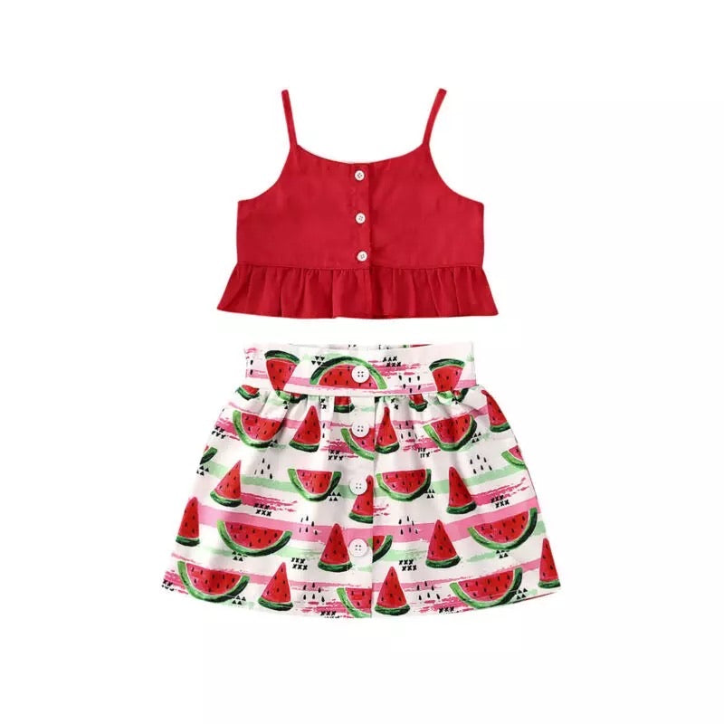 Red Watermelon Summer Set