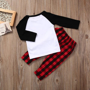 Reindeer Plaid Set